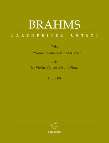 Trio for Violin, Violoncello and Piano op. 101