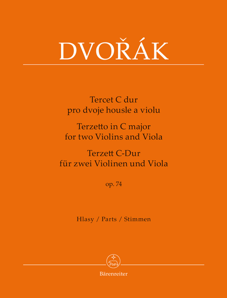 Terzetto for two Violins and Viola C major op. 74