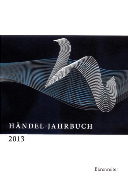 Handel-Jahrbuch 2013, 59. Jahrgang