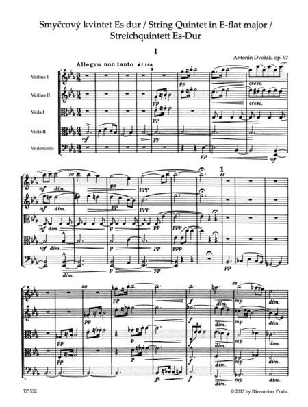 String Quintet E-flat major op. 97