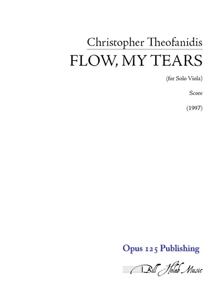 Flow, My Tears