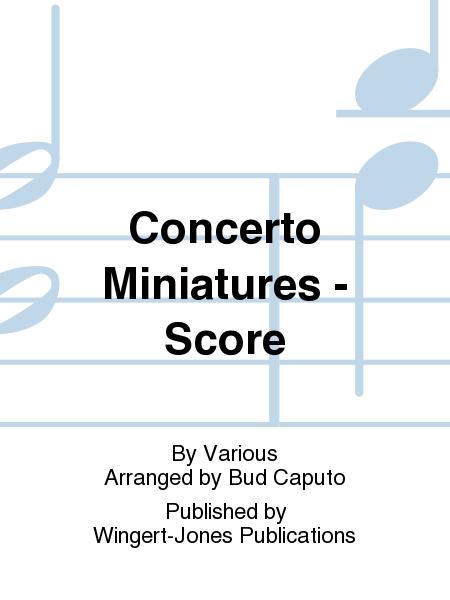 Concerto Miniatures - Score