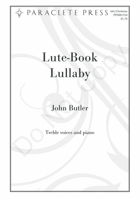 Lute-Book Lullaby