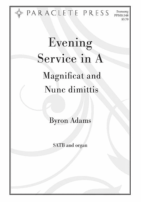 Magnificat and Nunc Dimittis from Evening Service in A