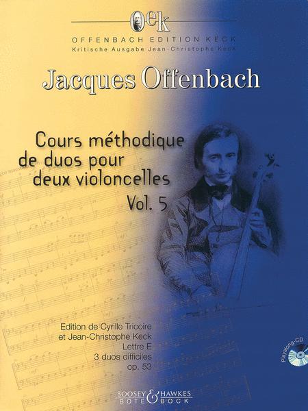 Cour methodique de duos pour deux violoncelles, Vol. 5