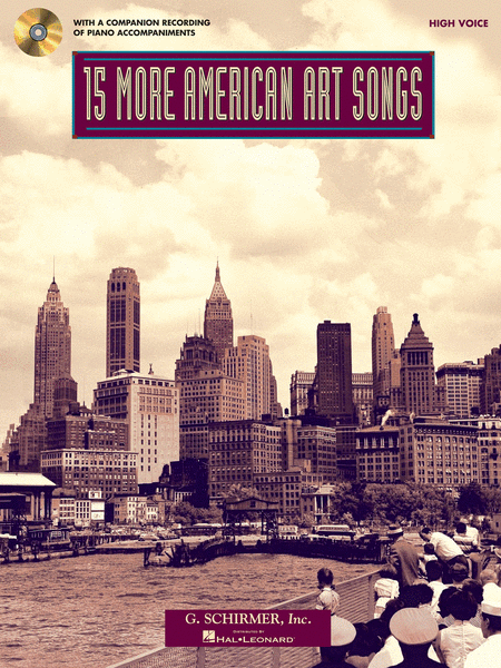 15 More American Art Songs