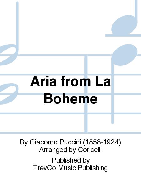 Aria from La Boheme