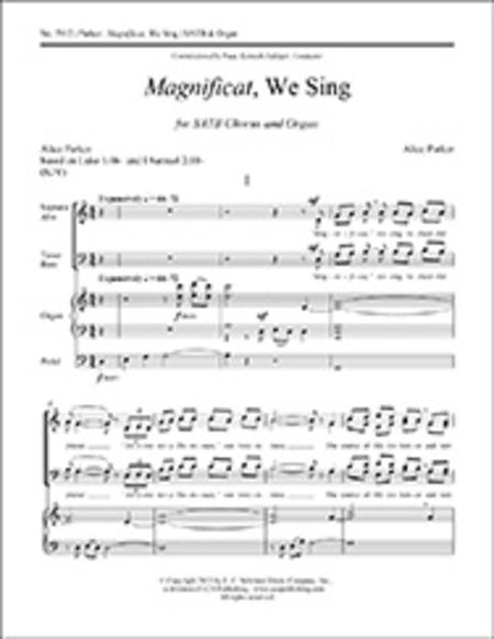 Magnificat, We Sing