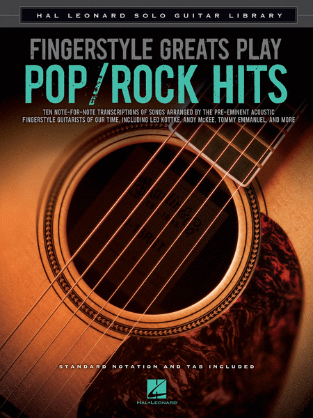 Fingerstyle Greats Play Pop/Rock Hits