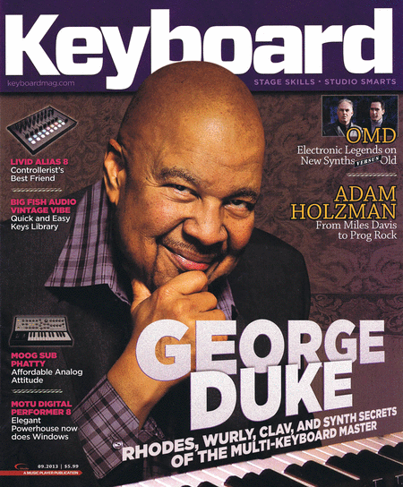 Keyboard Magazine - September 2013 Issue