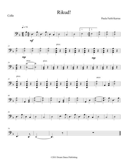 Rikud! (cello part)