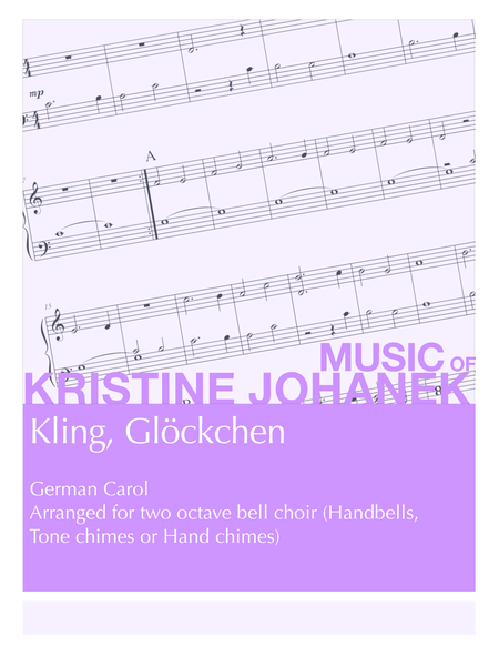 Kling, Glockchen (2 octave handbells, tonce chimes or hand chimes)