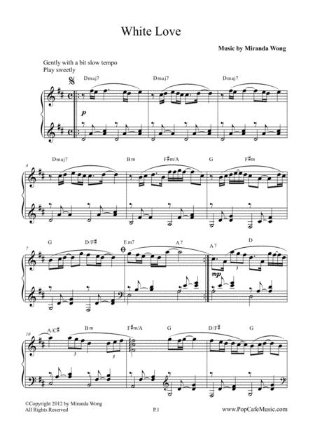 White Love - Romantic Piano Music