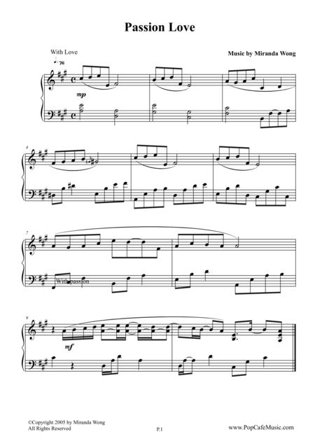 Passion Love - Wedding Piano Music