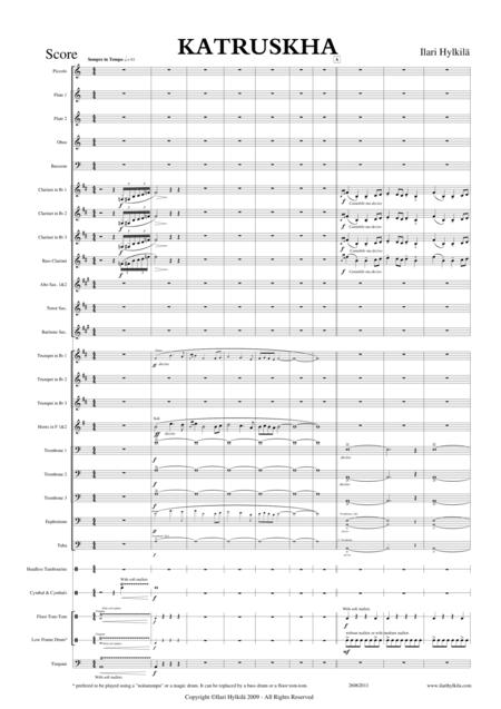 KATRUSKHA for Concert Band