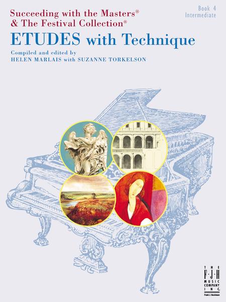 Etudes with Technique, Book 4