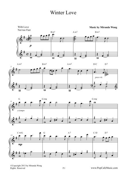 Winter Love - Romantic Christmas Music from