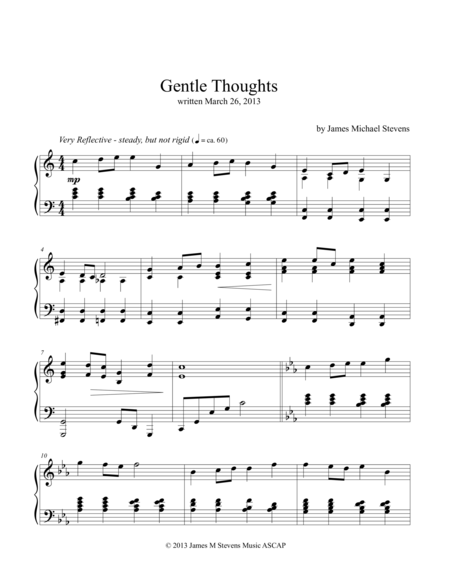 Gentle Thoughts