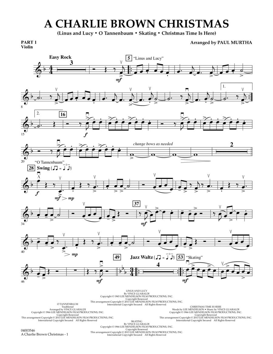 A Charlie Brown Christmas - Pt.1 - Violin