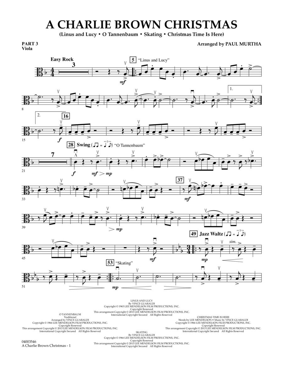 A Charlie Brown Christmas - Pt.3 - Viola