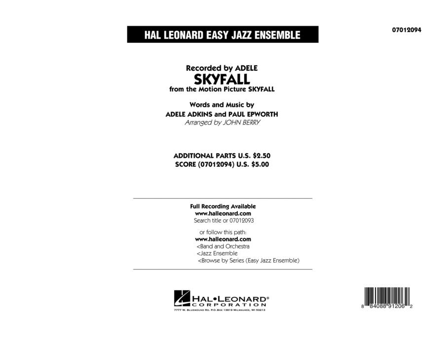 Skyfall - Conductor Score (Full Score)