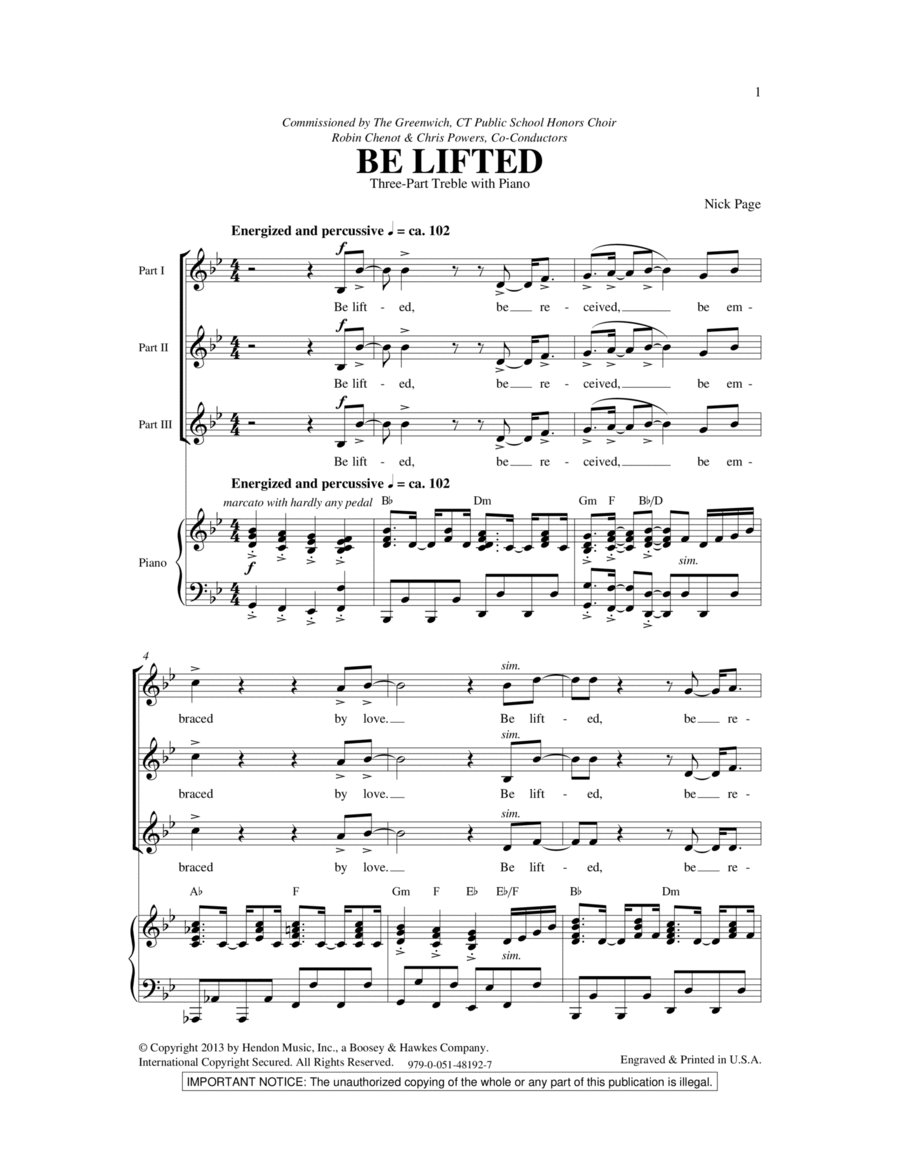 Be Lifted