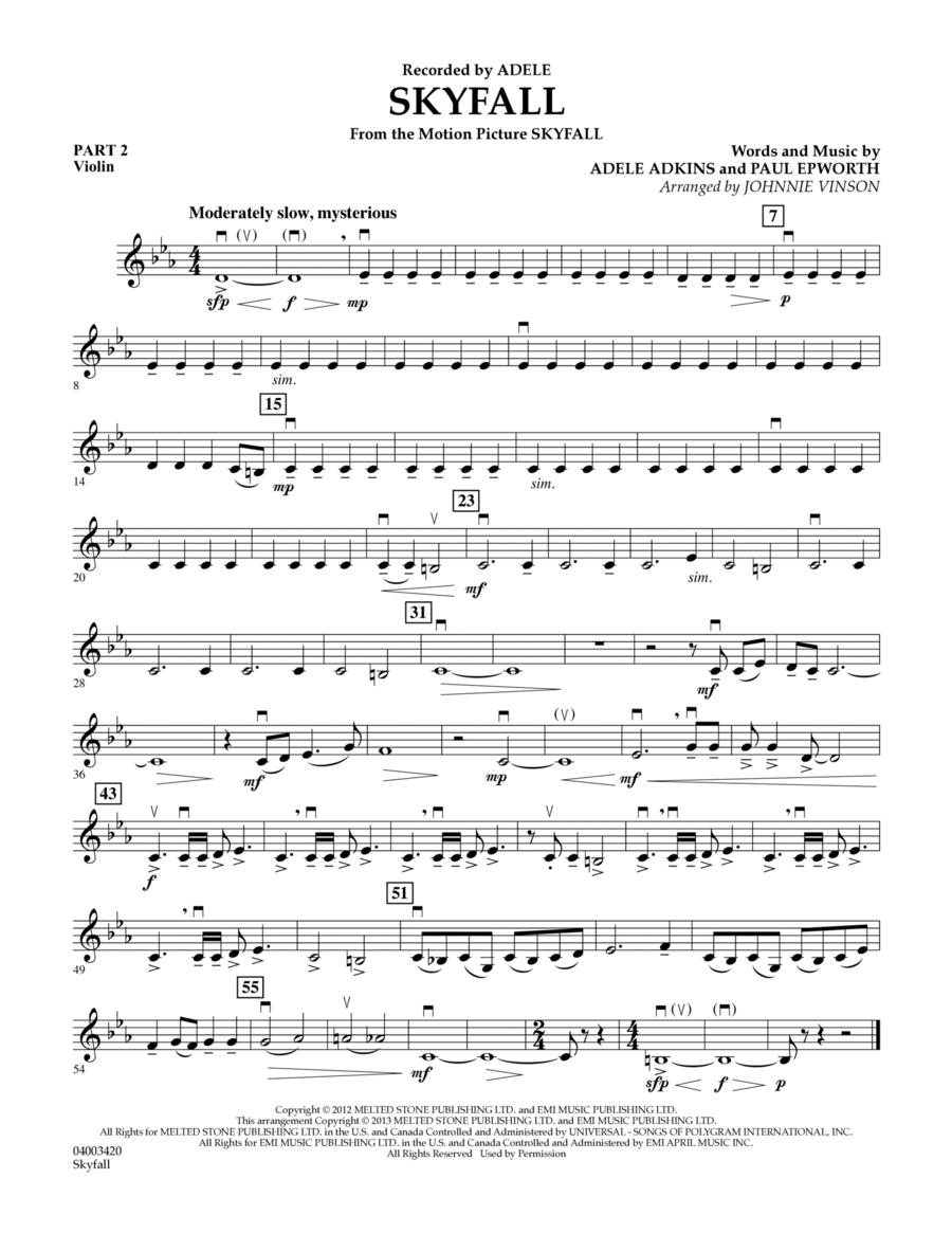 Skyfall - Pt.2 - Violin