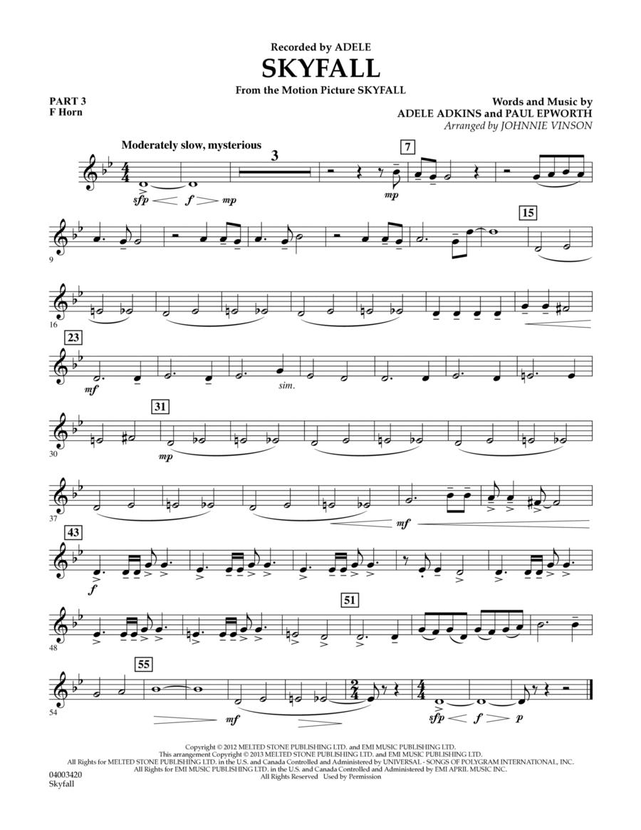 Skyfall - Pt.3 - F Horn