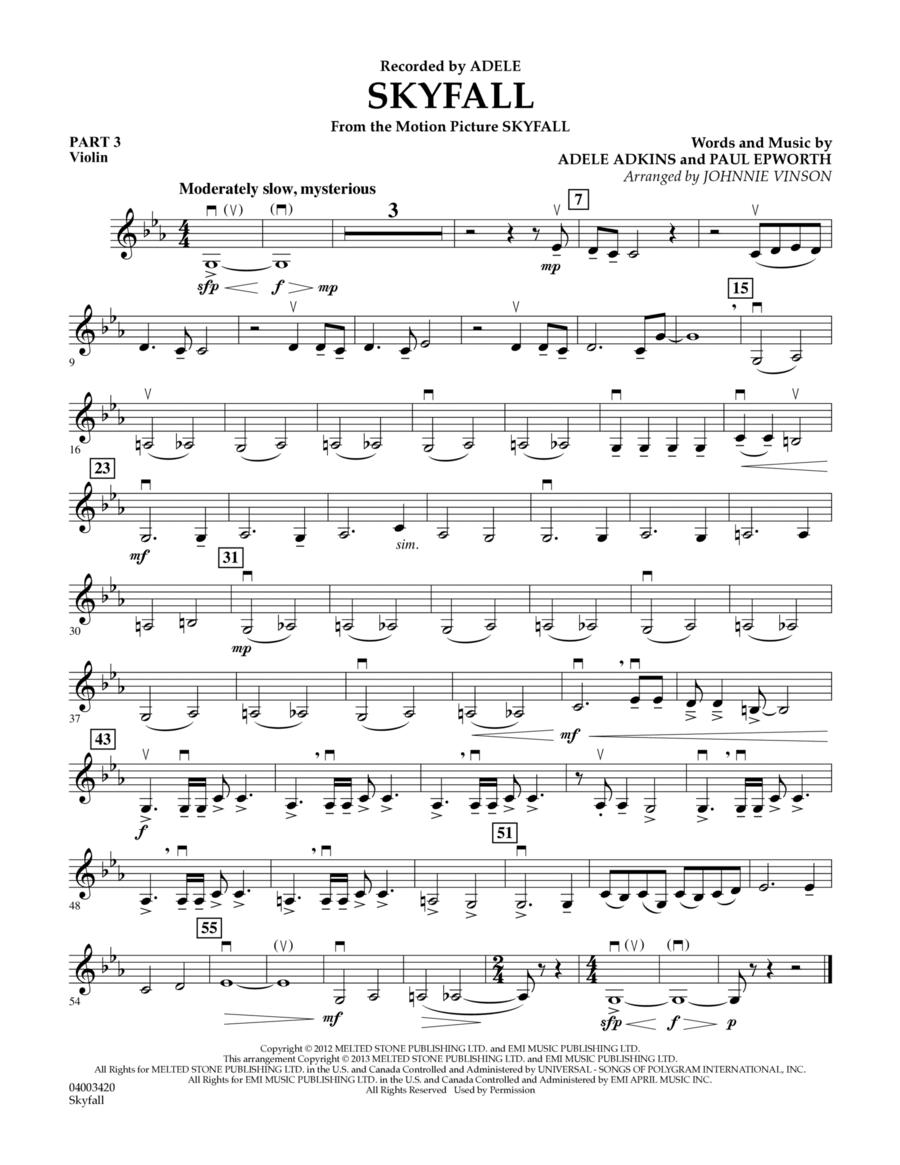 Skyfall - Pt.3 - Violin