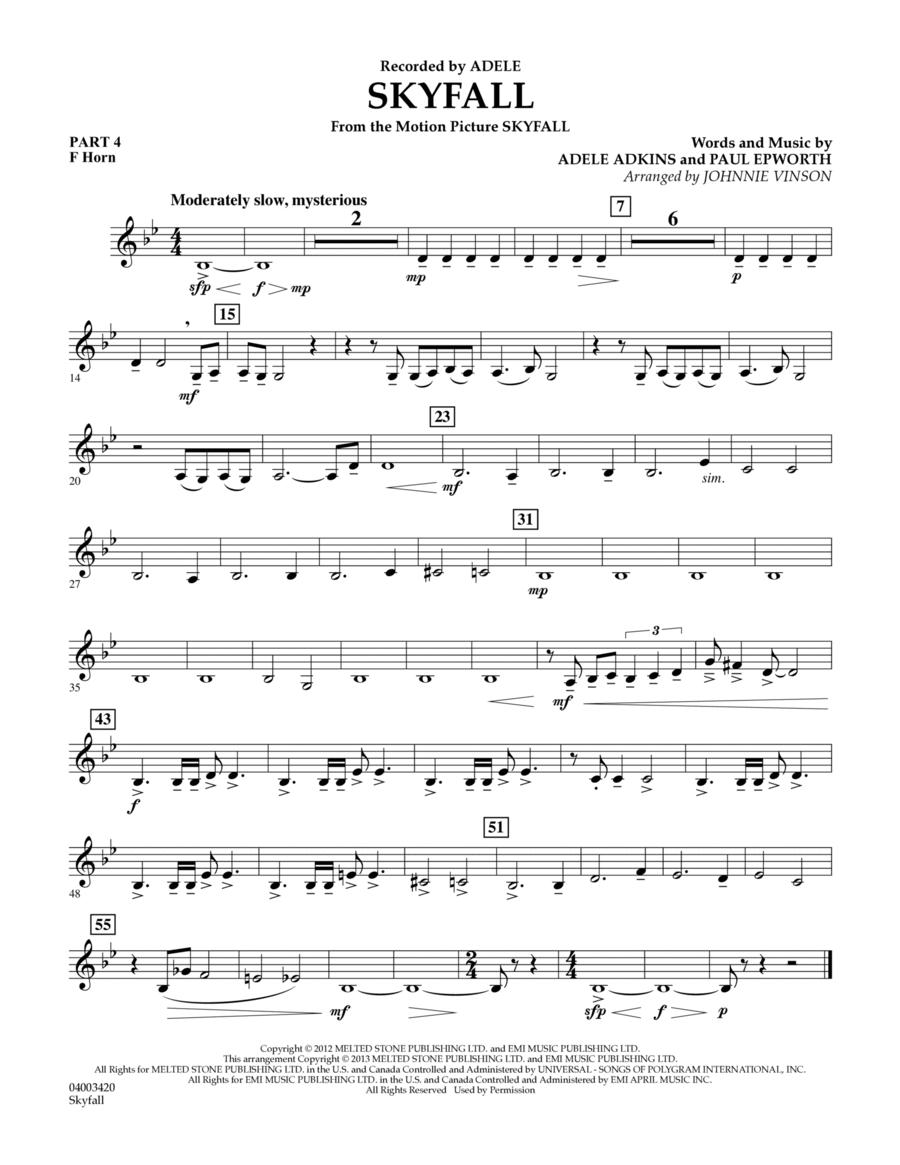 Skyfall - Pt.4 - F Horn