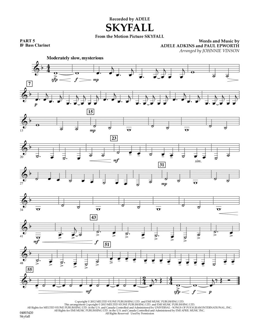 Skyfall - Pt.5 - Bb Bass Clarinet