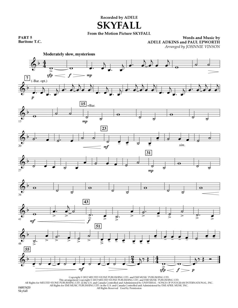 Skyfall - Pt.5 - Baritone T.C.
