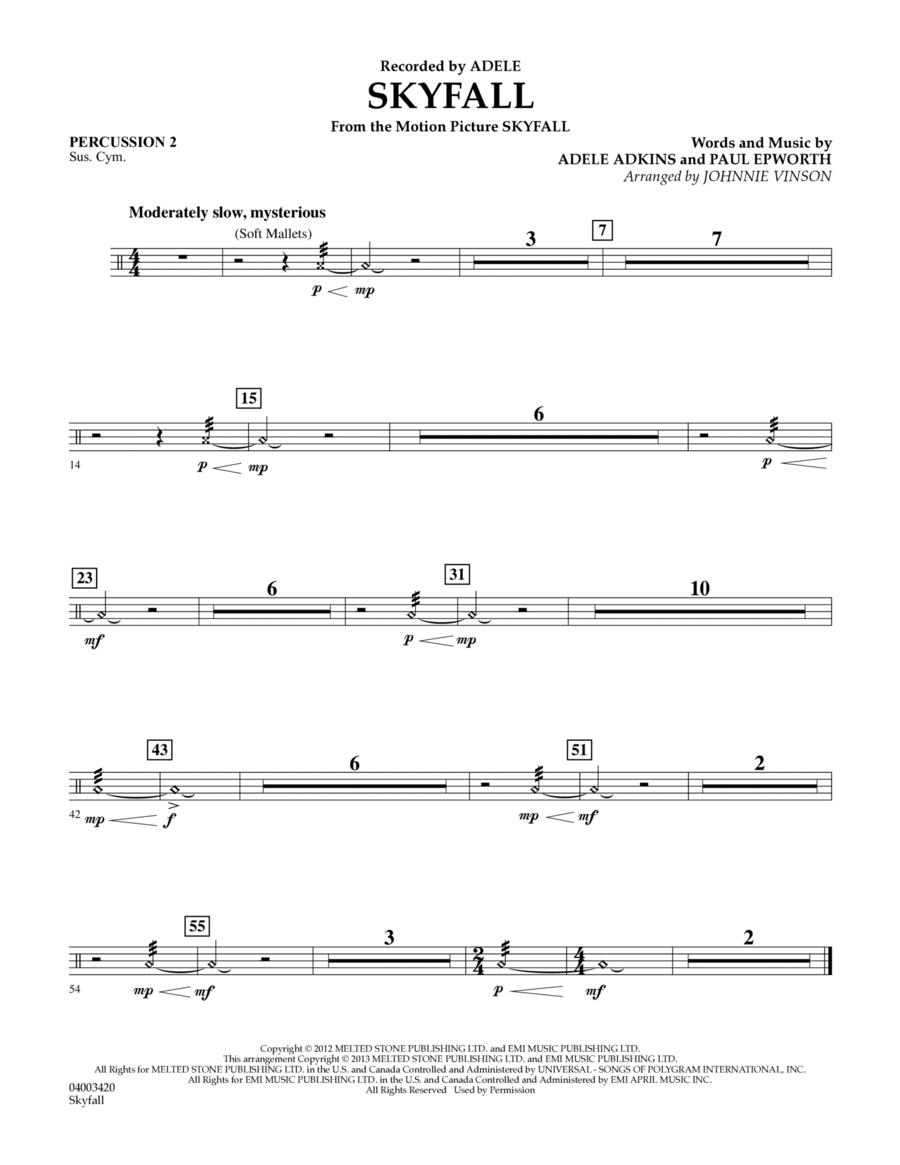 Skyfall - Percussion 2