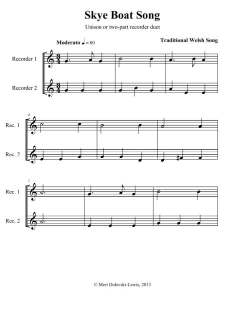 Skye Boat Song