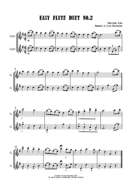 Easy Flute Duet no.2