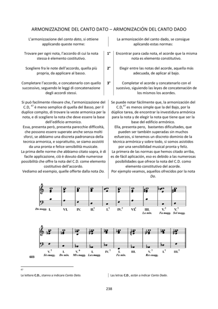 Harmony and Composition (Italian / Spanish) - Chapter 21 of 25