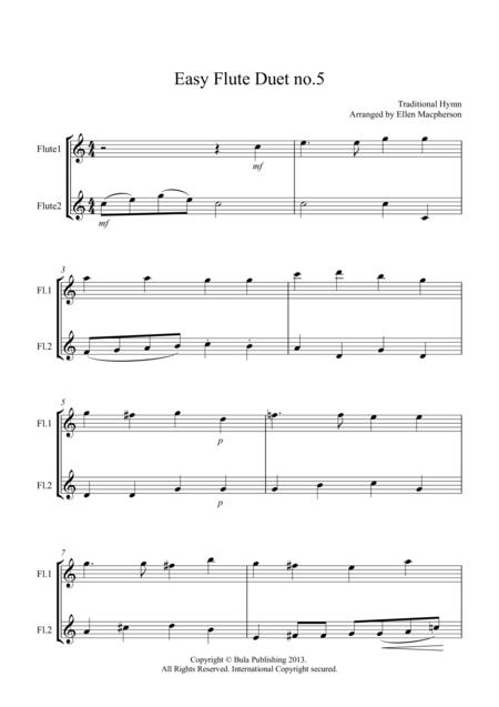 Easy Flute Duet no.5