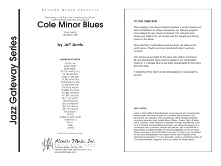 Cole Minor Blues - Full Score