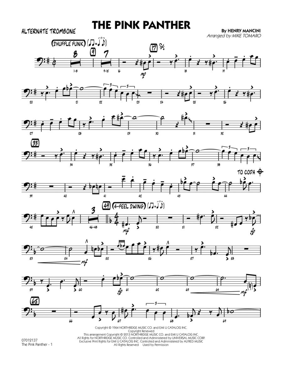 The Pink Panther - Alternate Trombone