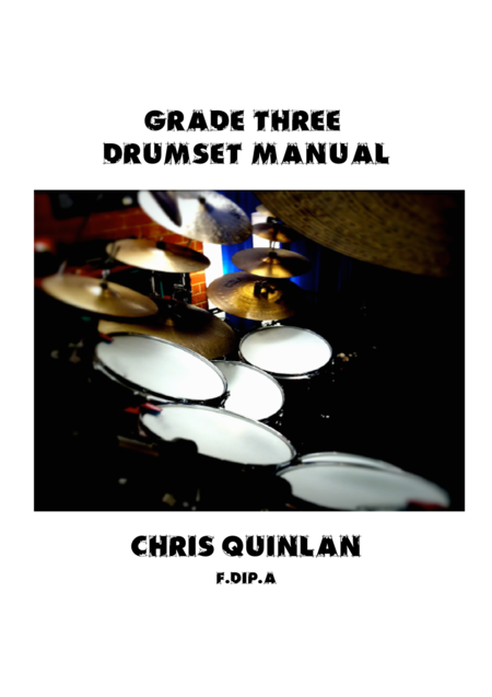Grade Three Drumset Manual