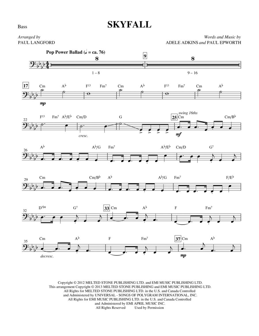 Skyfall - Bass
