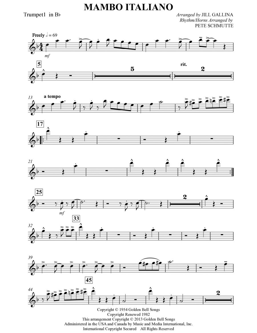Mambo Italiano - Bb Trumpet 1