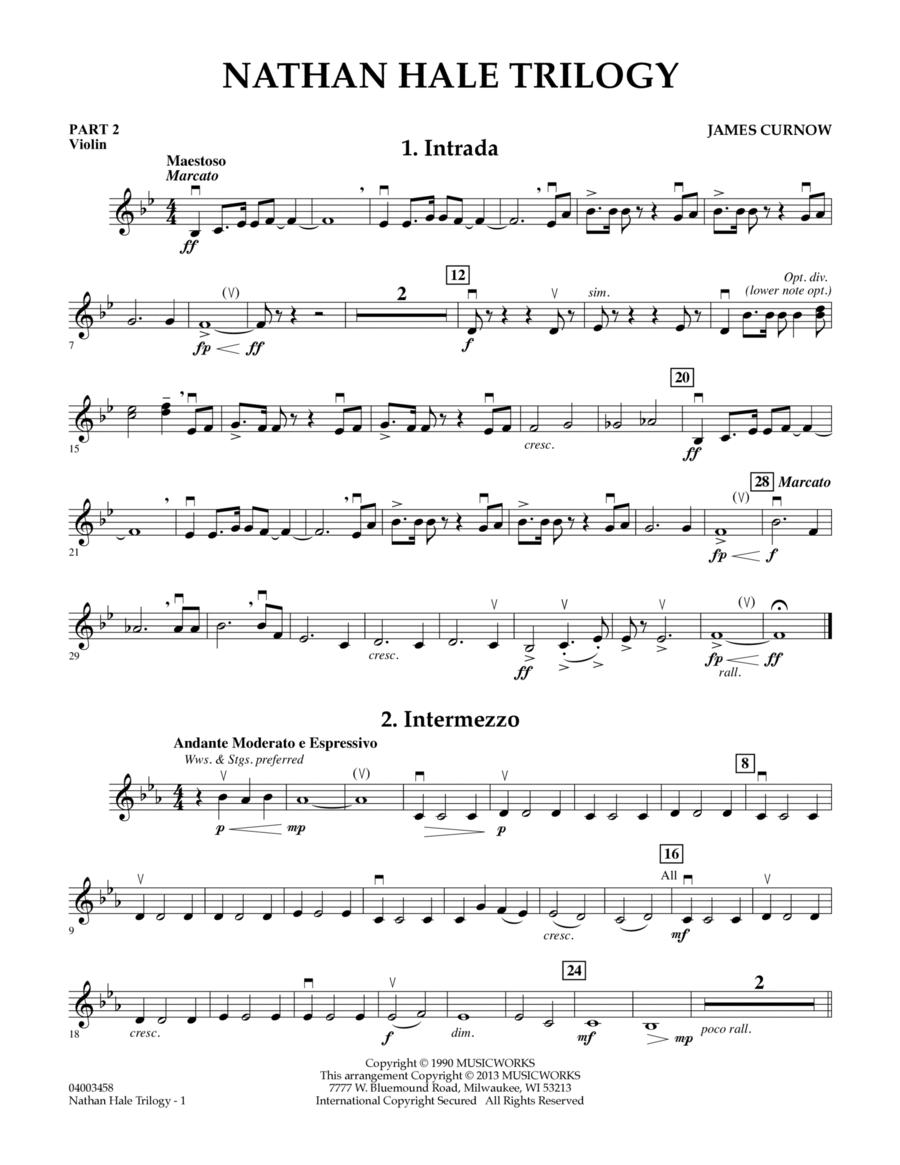Nathan Hale Trilogy - Pt.2 - Violin