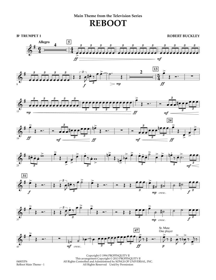 Reboot - Bb Trumpet 1