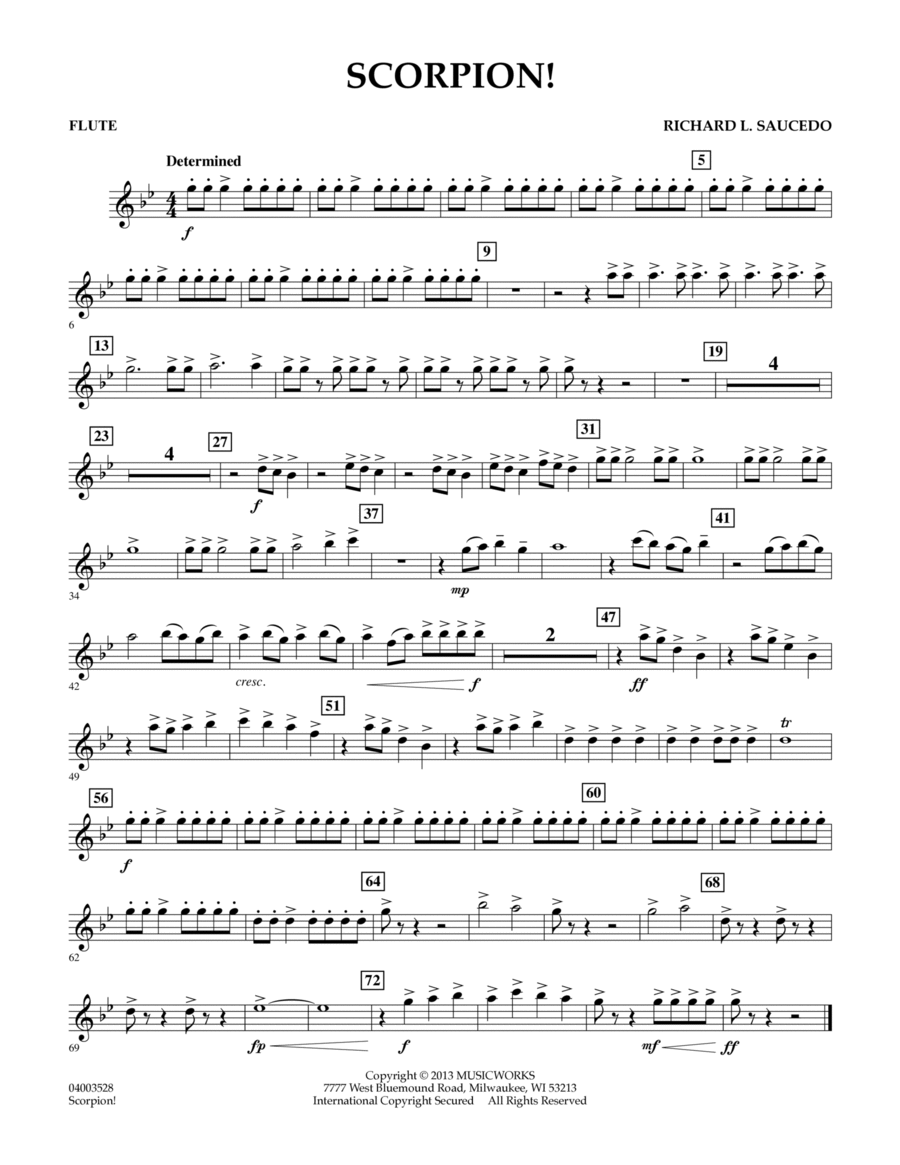 Scorpion! - Flute