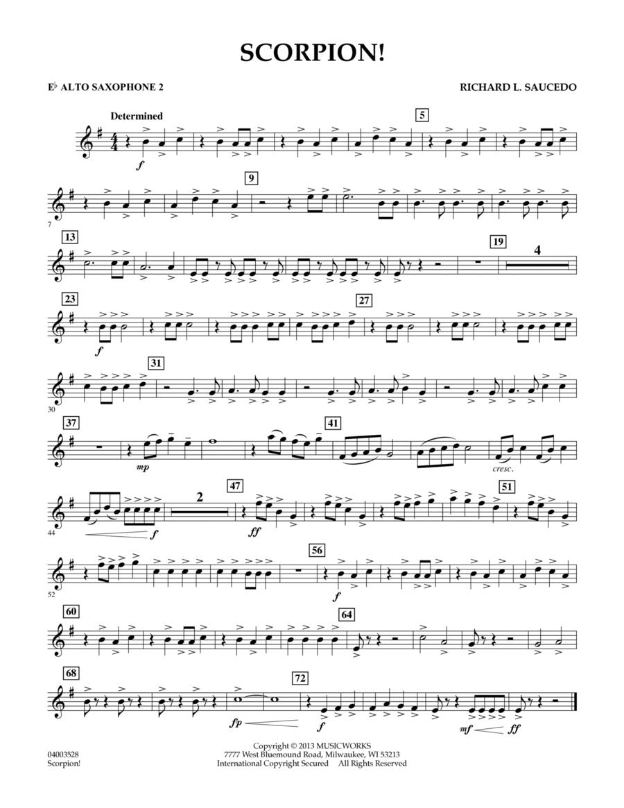 Scorpion! - Eb Alto Saxophone 2