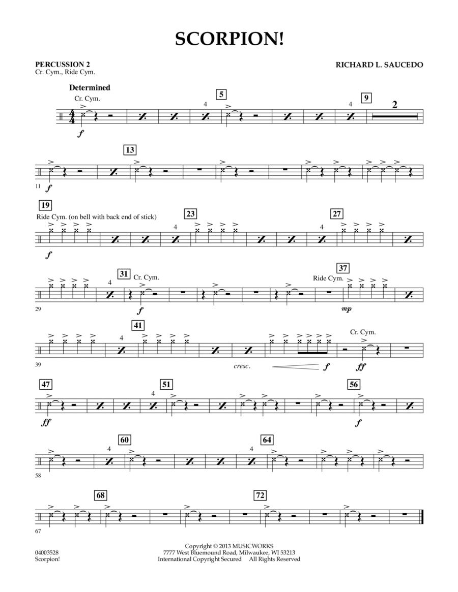 Scorpion! - Percussion 2