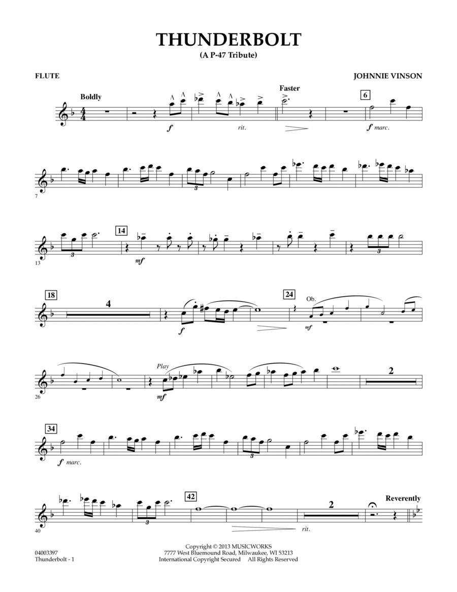 Thunderbolt (A P-47 Tribute) - Flute