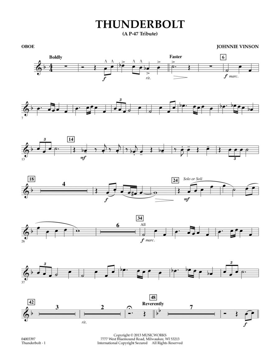 Thunderbolt (A P-47 Tribute) - Oboe
