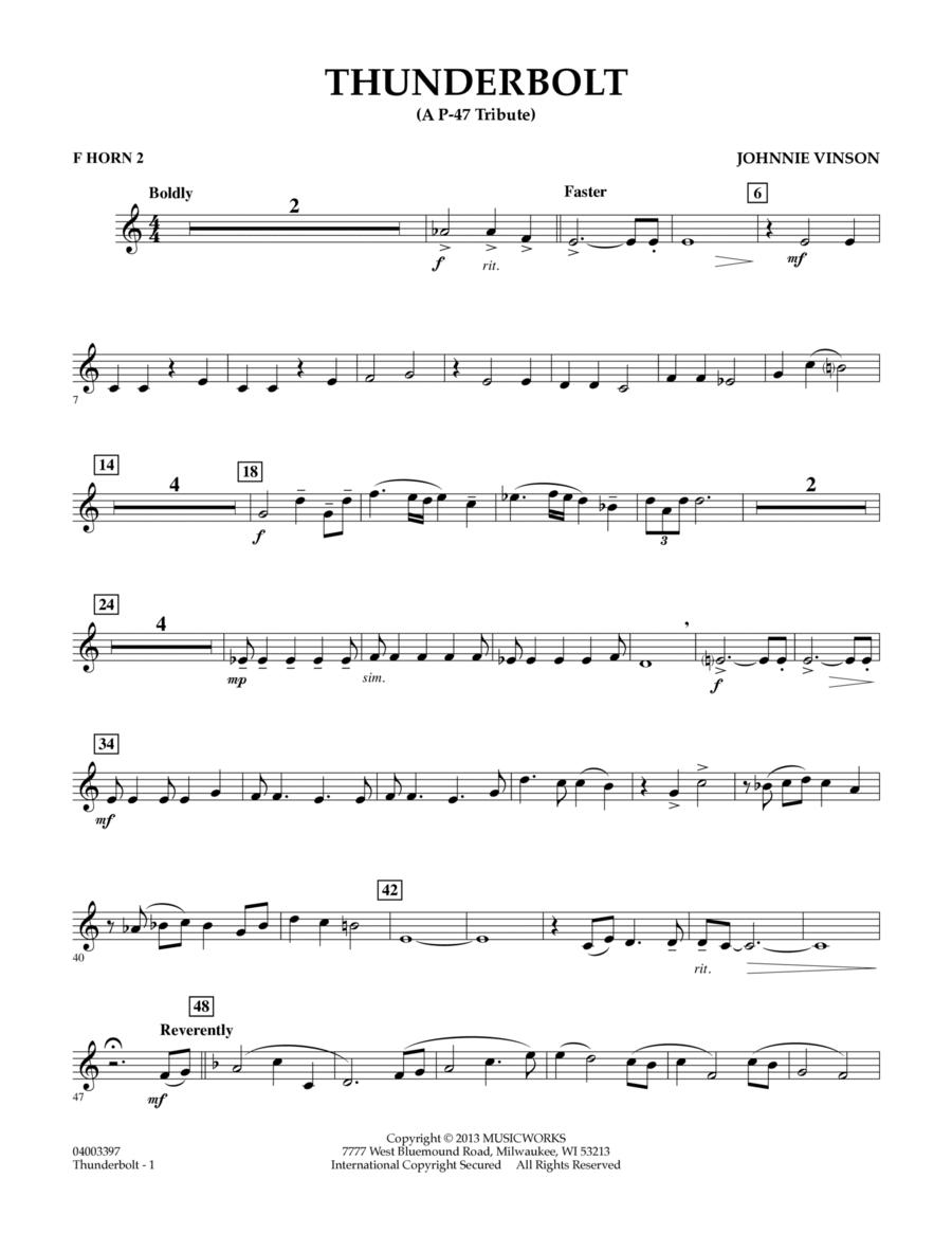 Thunderbolt (A P-47 Tribute) - F Horn 2